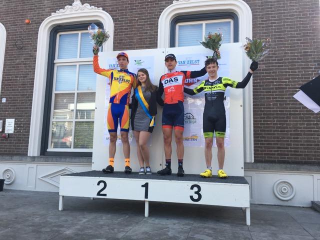 Bart Klein Nienhuis 3de Plaats In De Ronde Van Geldrop