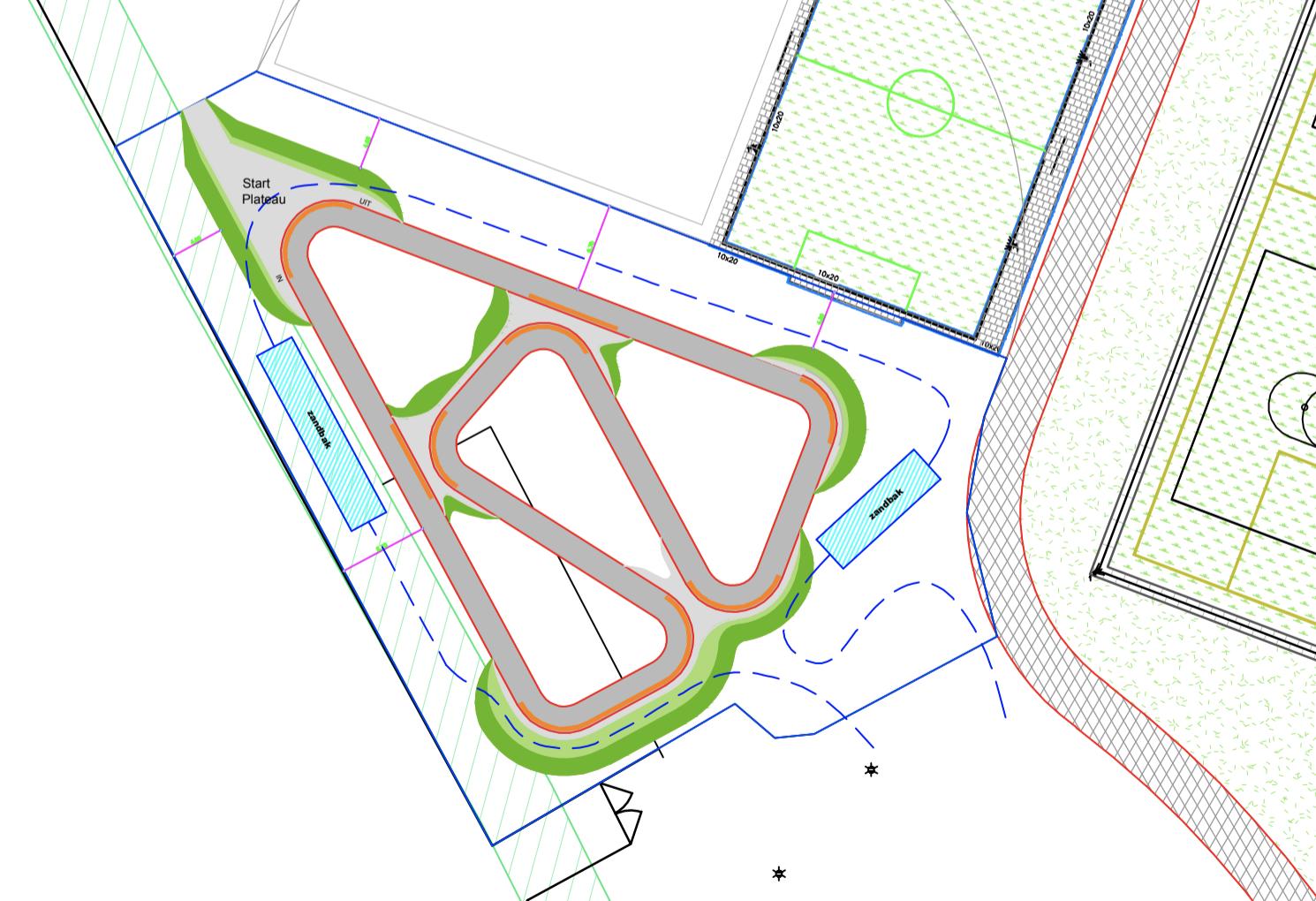 Mogelijk Pumptrackbaan Op Sportpark Zuid